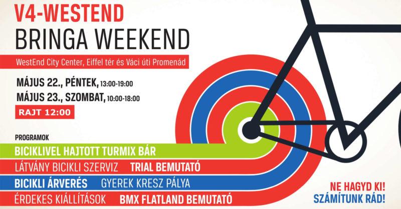 V4-WestEnd Bringa Weekend 2015. május 22-23.