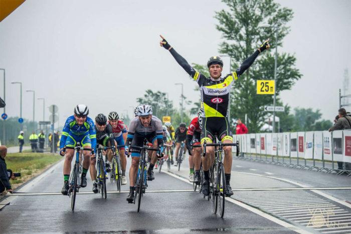 A 3. V4 Kerékpárverseny Magyar Nagydíját a cseh Alois Kankovski nyerte (Fotó: Vanik Zoltán)