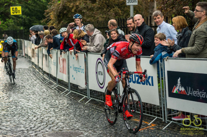 A verseny végül a szlovák Marek Canecky győzelmével zárult (Fotó: Vanik Zoltán)