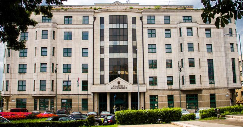 Külgazdasági és Külügyminisztérium (Fotó: Drienyovszki Tamás)