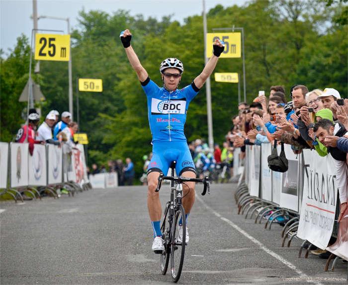 A 2014-es magyar szakasz győztese, Pawel Bernas (Fotó: Vanik Zoltán)