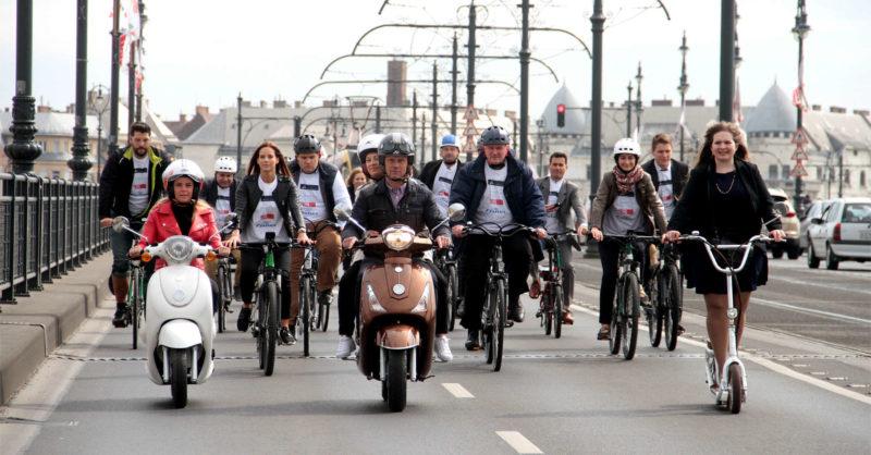V4 Kerékpárverseny 2017, a sajtótájékoztató képekben (Fotó: Vanik Zoltán)