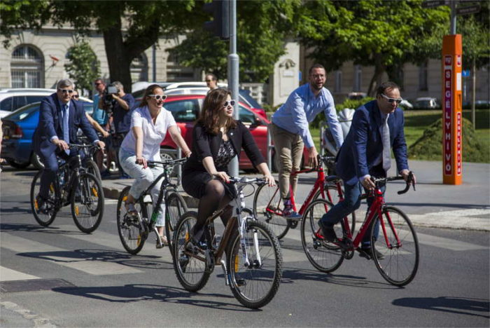 V4 Kerékpárverseny 2018 - sajtáj (Fotó: Takács Tamás)
